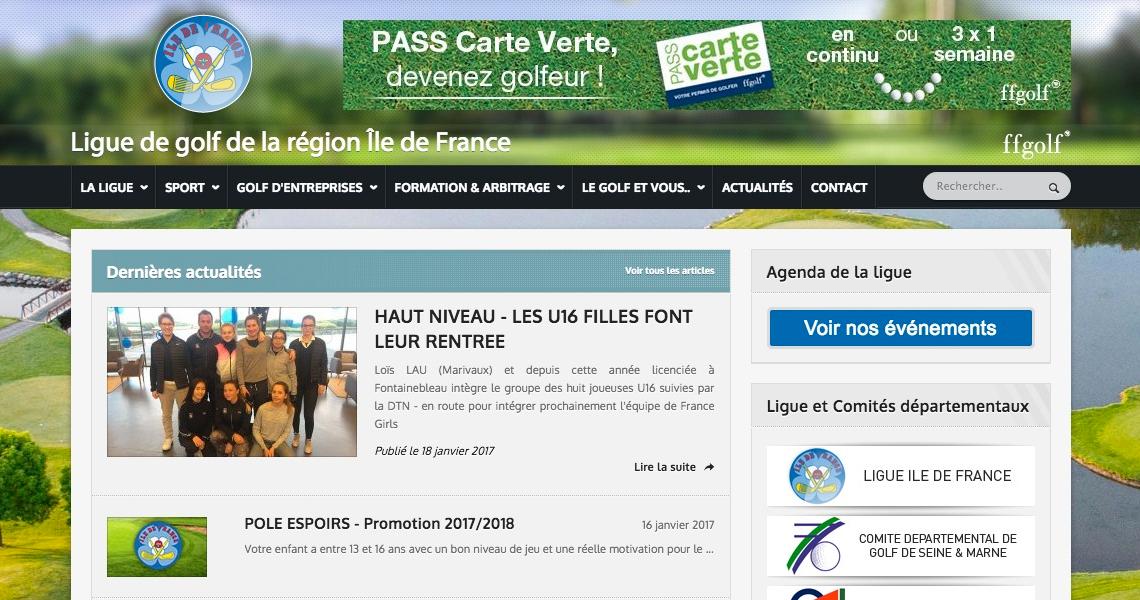 Ligue ïle de France de Golf