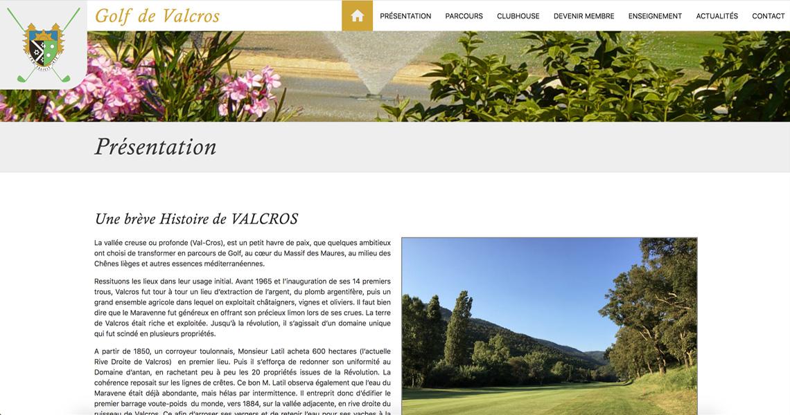 Golf de Valcros